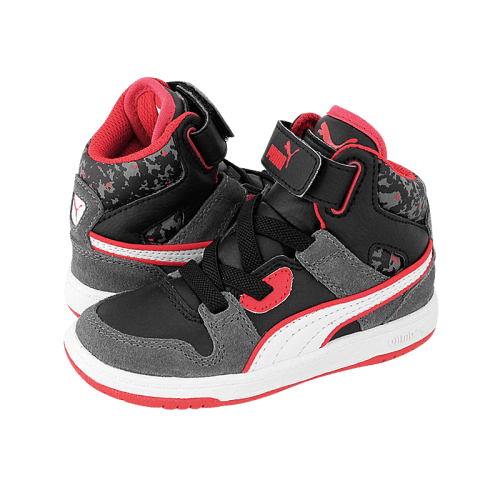 Puma Rebound Street Camo S athletic kids' shoes