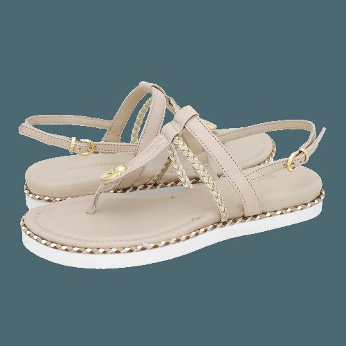 Gianna Kazakou Nunhem flat sandals