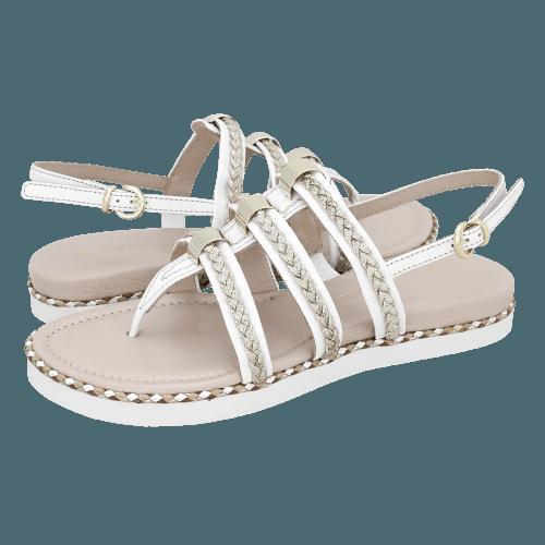 Gianna Kazakou Nanquan flat sandals