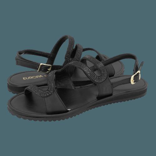 Europa Ele Naseby flat sandals