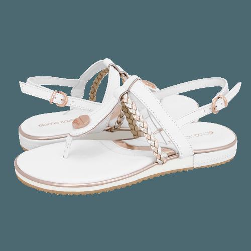 Gianna Kazakou Nerville flat sandals