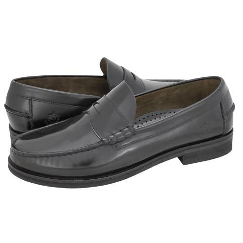 7335ff9a070 Niagara Premium Loafer - Lumberjack Men s loafers made of semi patent  leather - Gianna Kazakou Online
