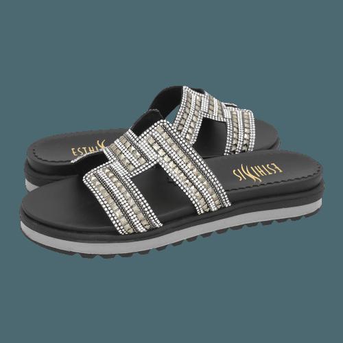 Esthissis Nanteau flat sandals