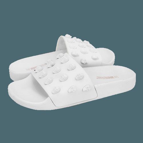 The White Brand Skulls flat sandals