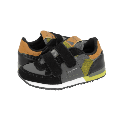 Pepe Jeans Sydney Camu Velcro casual kids' shoes