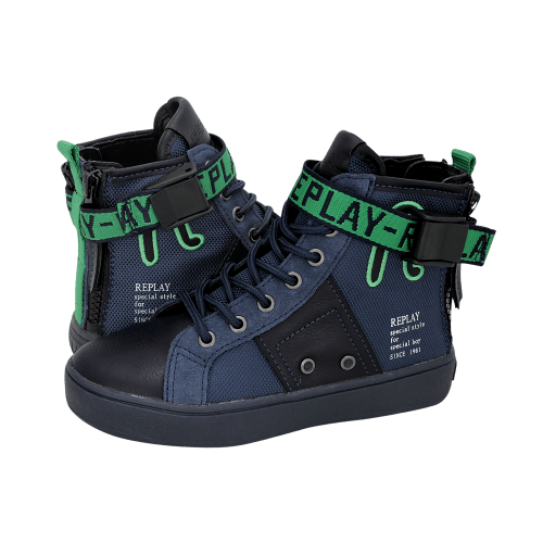 Replay Jacob L kids' low boots