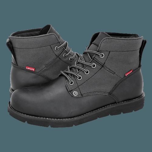 Levi's Brilliant Black low boots