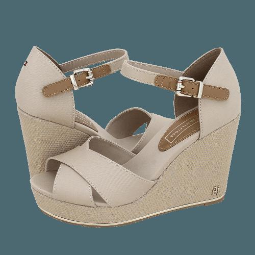 Tommy Hilfiger Feminine Wedge Sandal Basic platforms