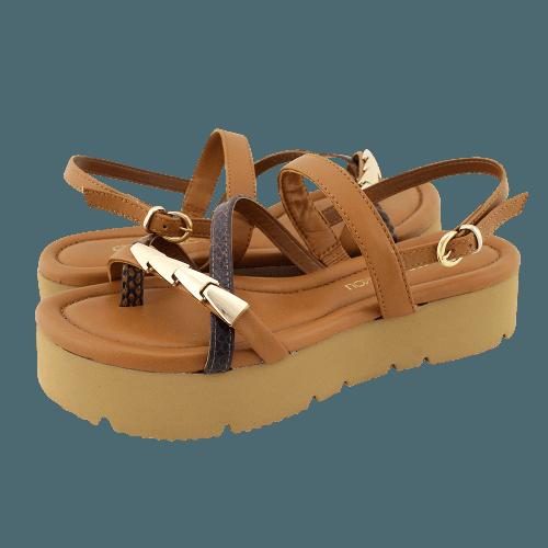 Gianna Kazakou Nyrany flat sandals
