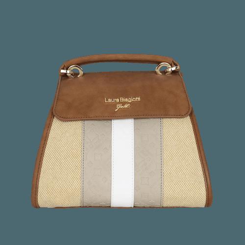 Laura Biagiotti Gold Tongyu bag