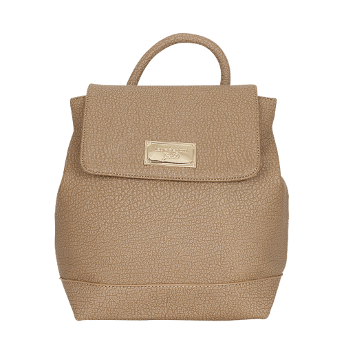 Laura Biagiotti Gold Tampoi bag