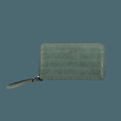Axel Dahlia Croco wallet
