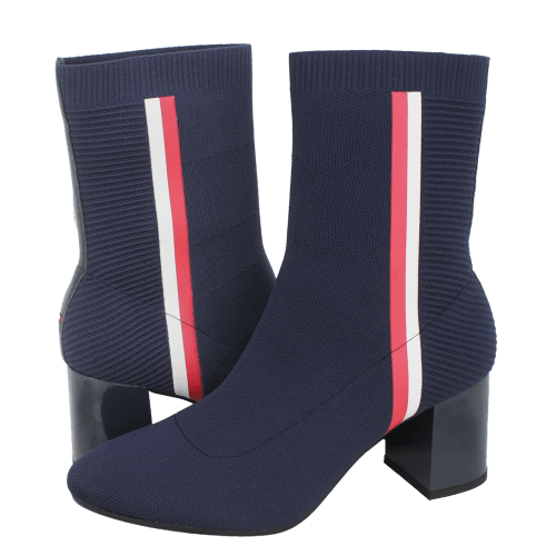 Tommy Hilfiger Knitted Heeled Boot low boots