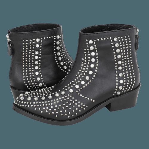 Gianna Kazakou Tarare low boots