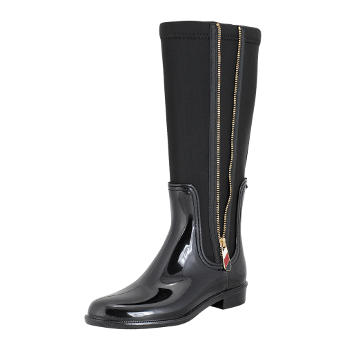Tommy Hilfiger Material Mix Long Rain Boot rainboots