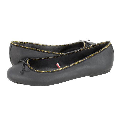 Tommy Hilfiger Leather ballerina Tommy  ballerinas