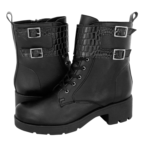 Mairiboo Croc & Roll low boots