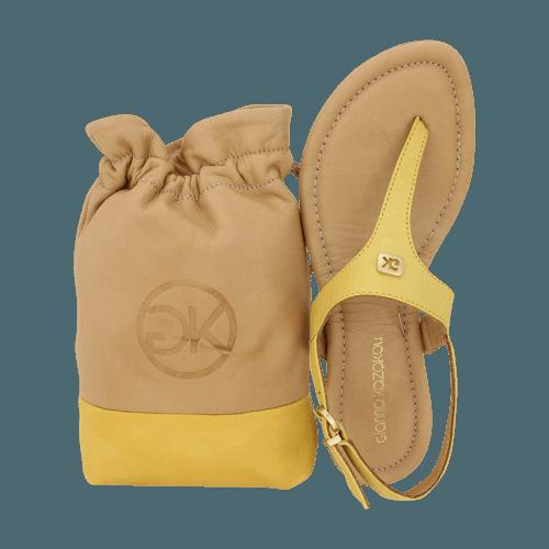 Gianna Kazakou Nakkita flat sandals