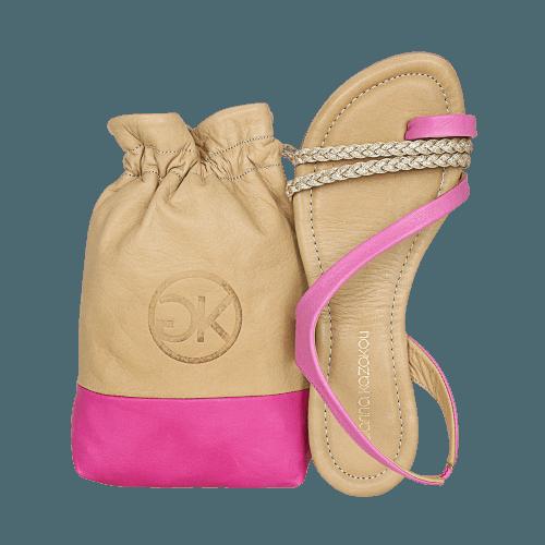 Gianna Kazakou Nosara flat sandals