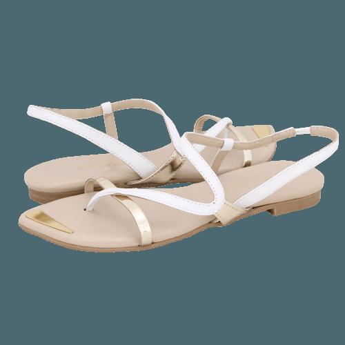 Gianna Kazakou Nietleben flat sandals