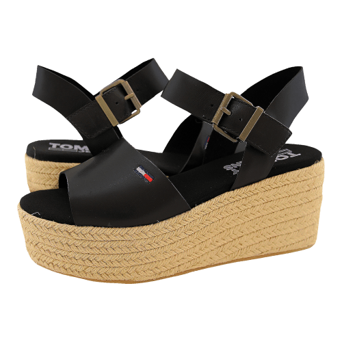 Tommy Hilfiger Natural Flatform Sandal platforms