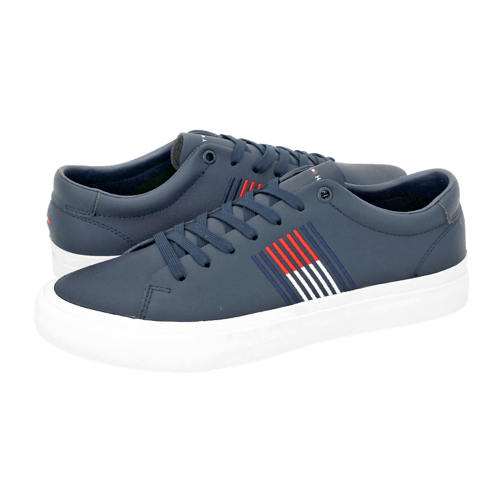 Tommy Hilfiger Corporate Leather Sneaker casual shoes