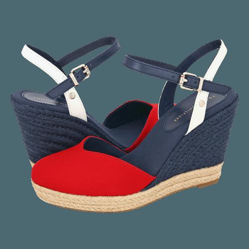 Tommy Hilfiger Basic Closed Toe High Wedge platforms