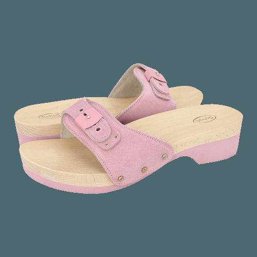 Scholl Pescura Heel Matt flat sandals