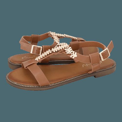 Miss NV Nemcice flat sandals