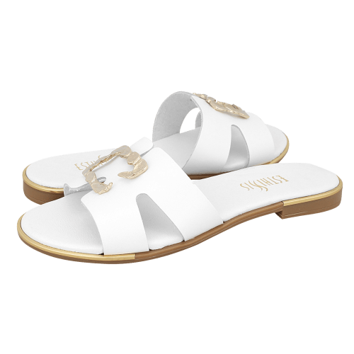 Esthissis Nickerson flat sandals