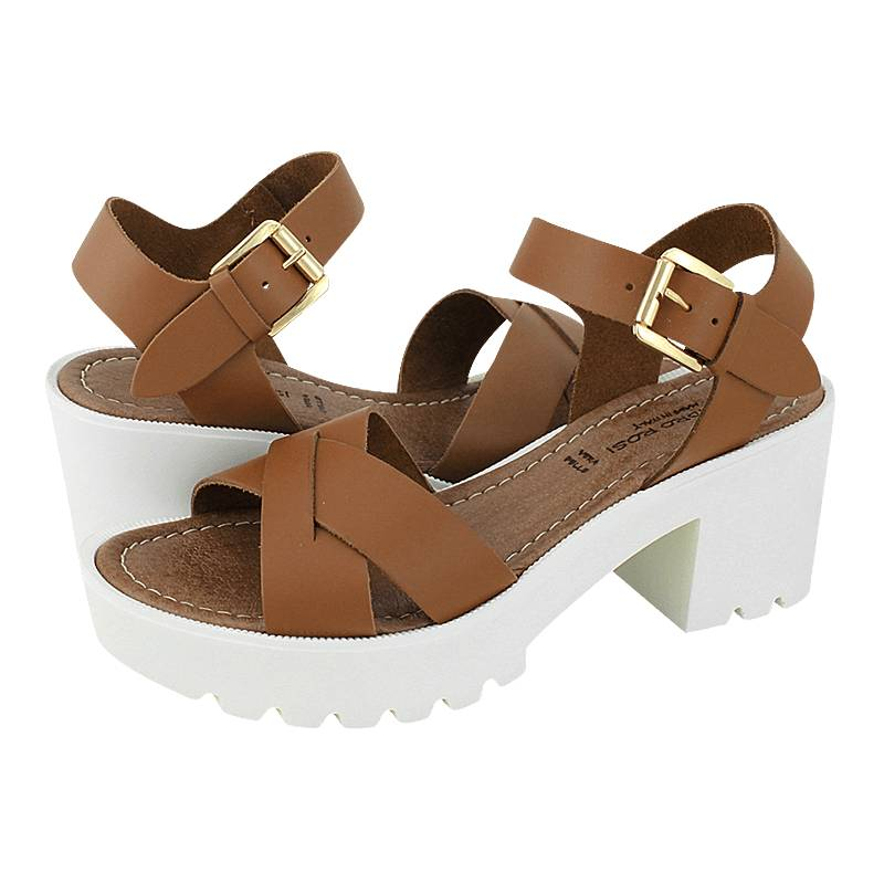 Gianna Sillerbo Women's Sandro Of Sandals Rosi Made Leather MVSzUp