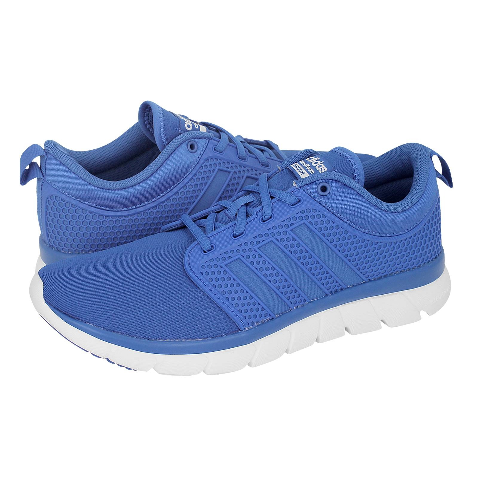 Adidas Cloudfoam Groove athletic shoes