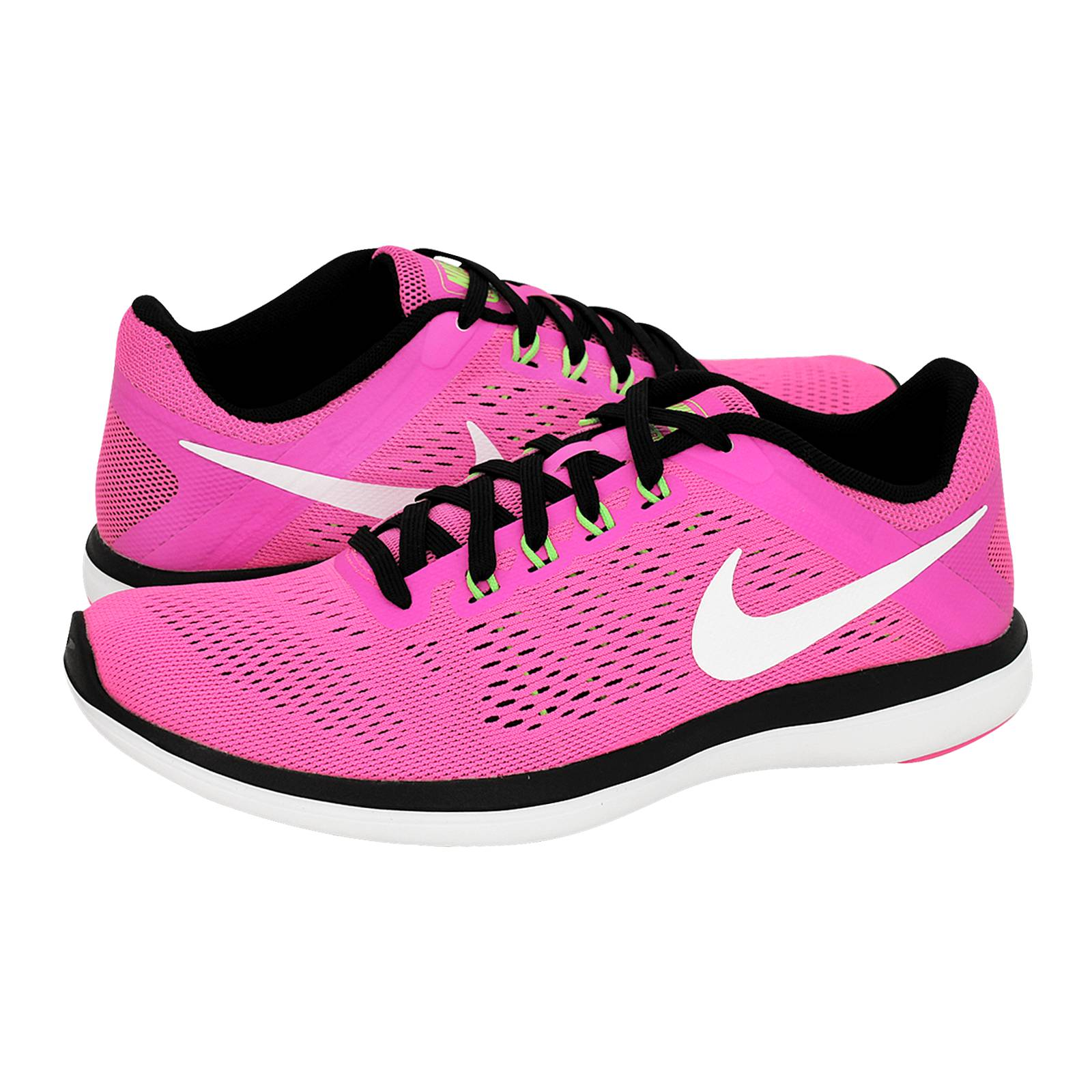 Flex 2016 RN - Nike Women s athletic shoes made of fabric and ... b36291d44