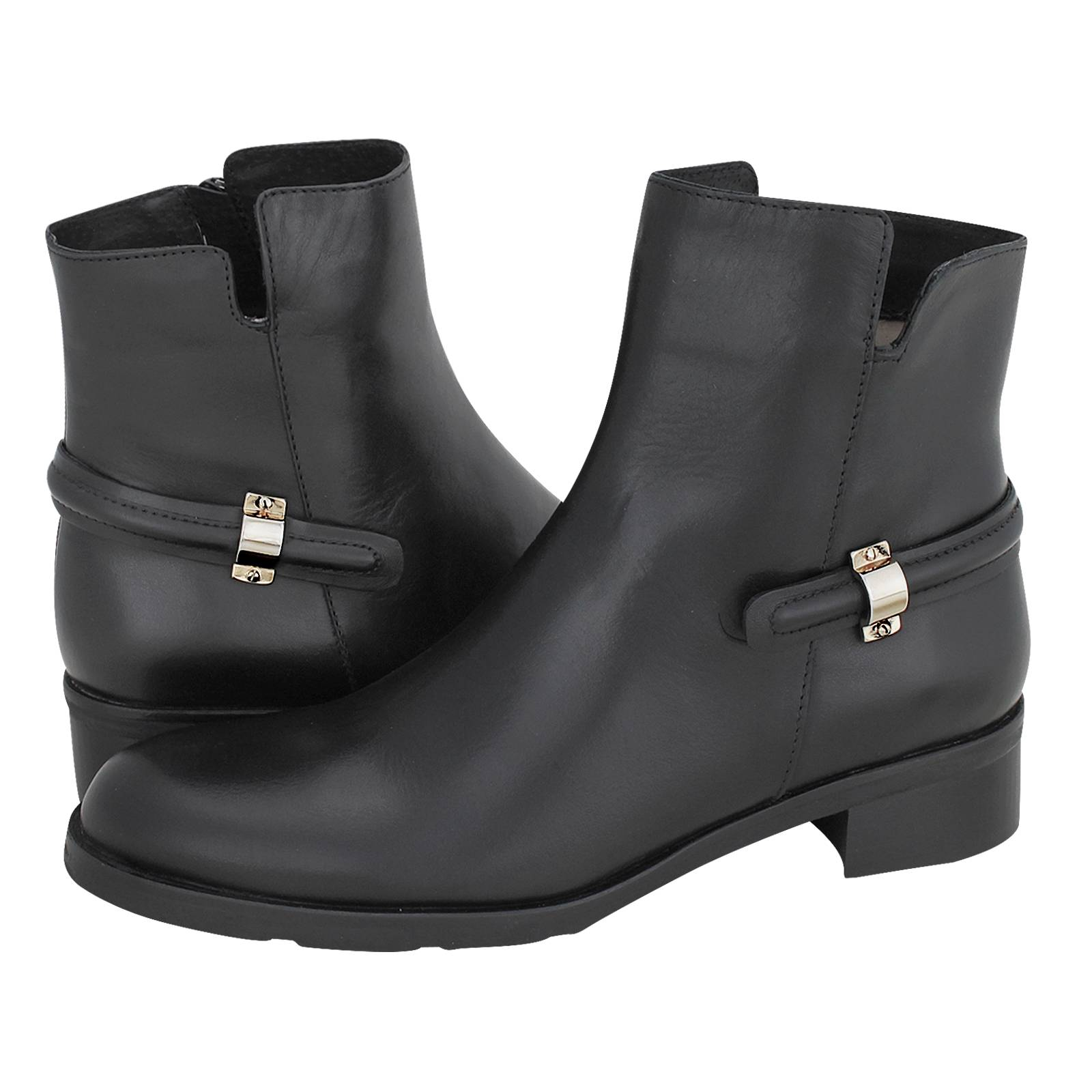 Thouez - Esthissis Women s low boots made of leather - Gianna ... d0b725c8787