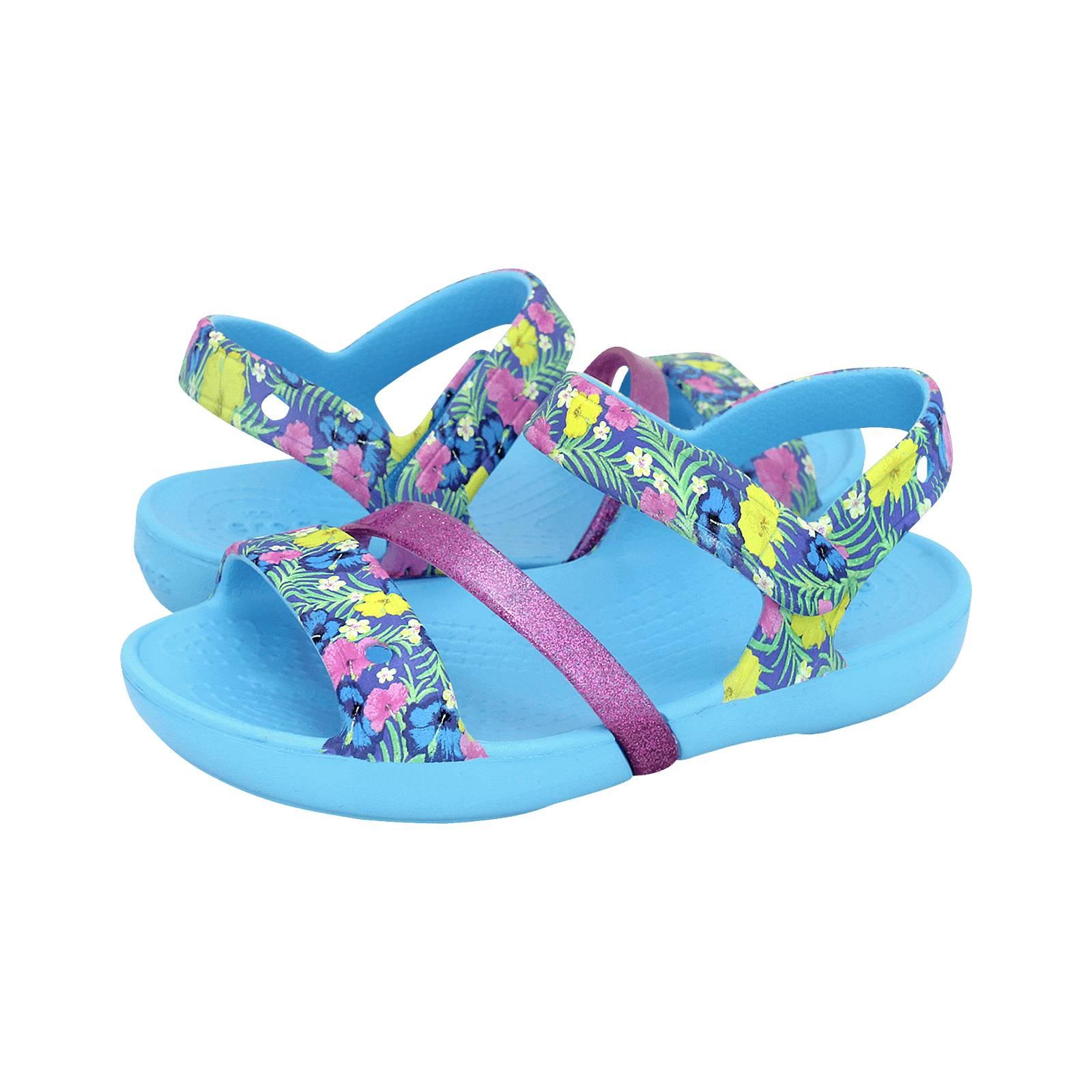 7c196265fd6e7 Crocs Lina Sandal S - Crocs Kids  sandals made of croslite - Gianna ...