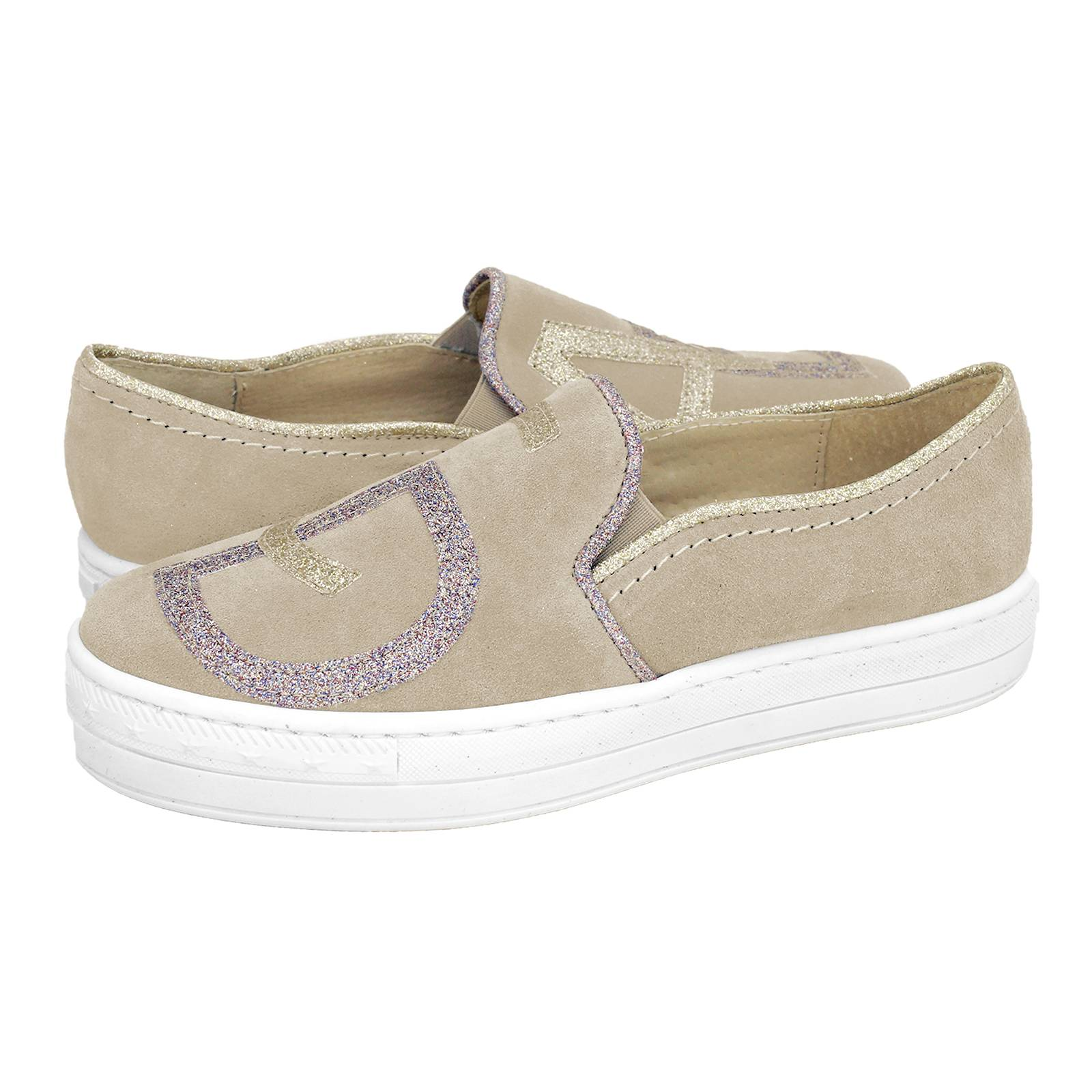 Cayce - Esthissis Women s casual shoes made of suede - Gianna ... 97ee45275d2