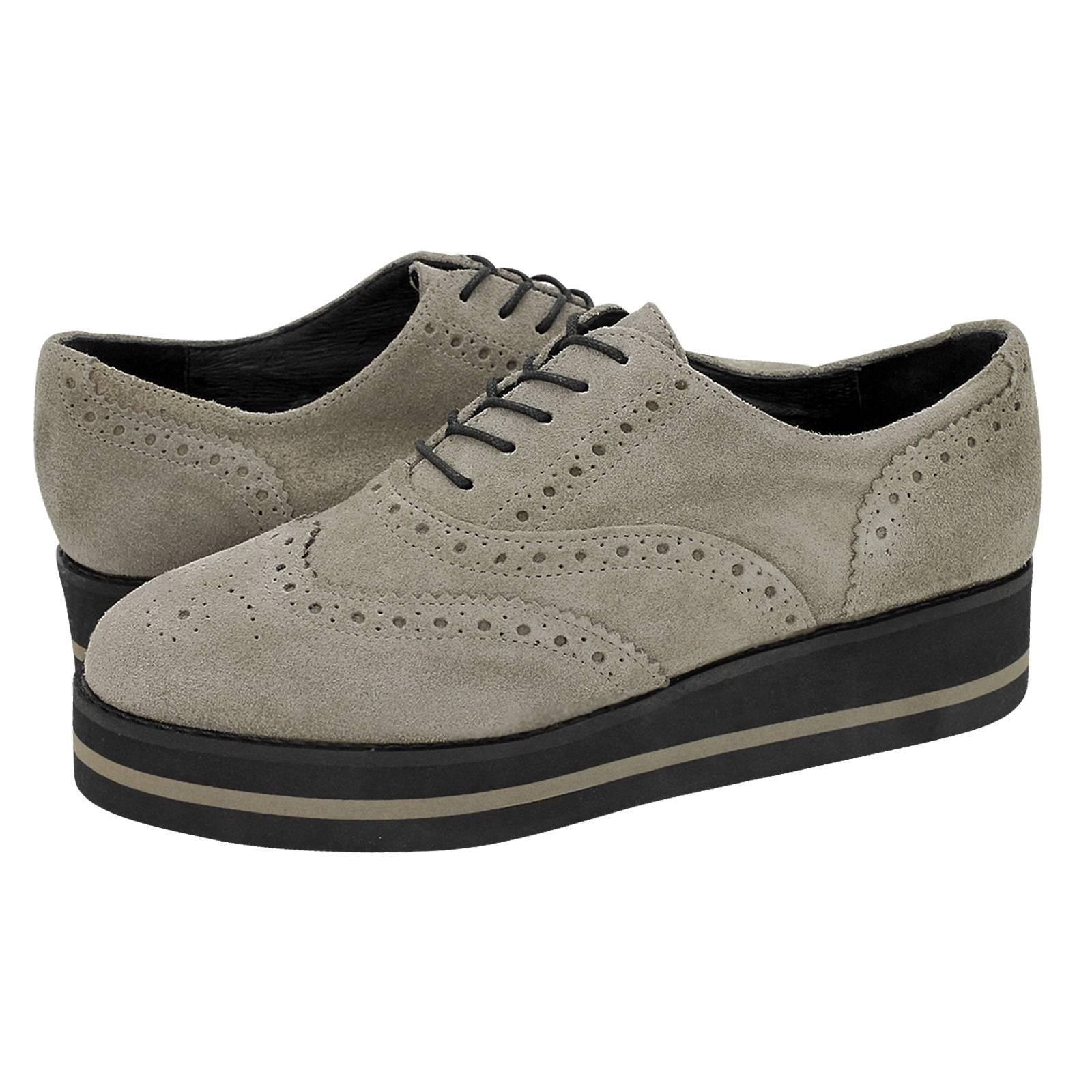 Candos - Esthissis Women s Oxford shoes made of suede - Gianna ... c9a475136e2