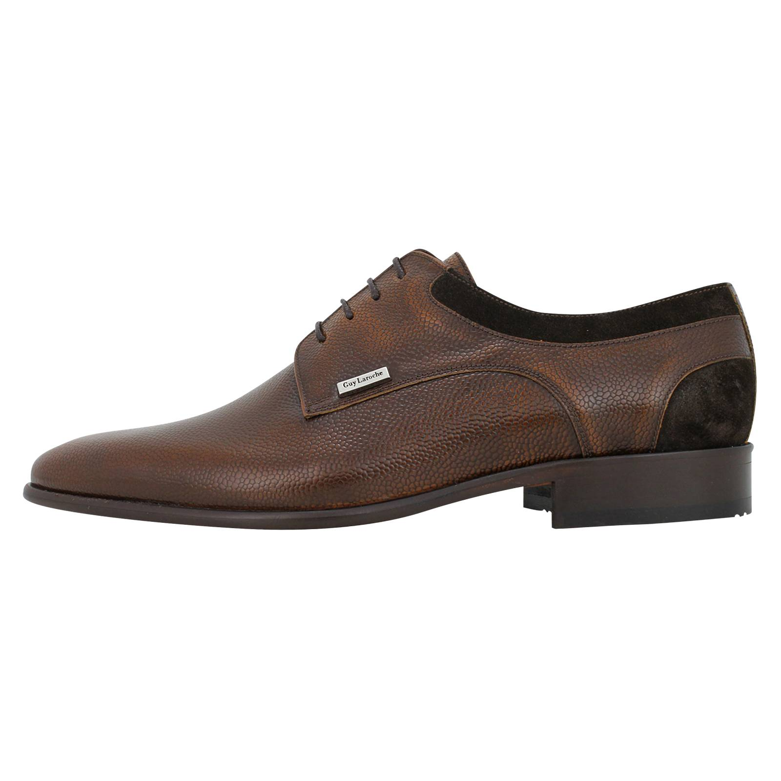 Guy Laroche Men's lace-up shoes made of
