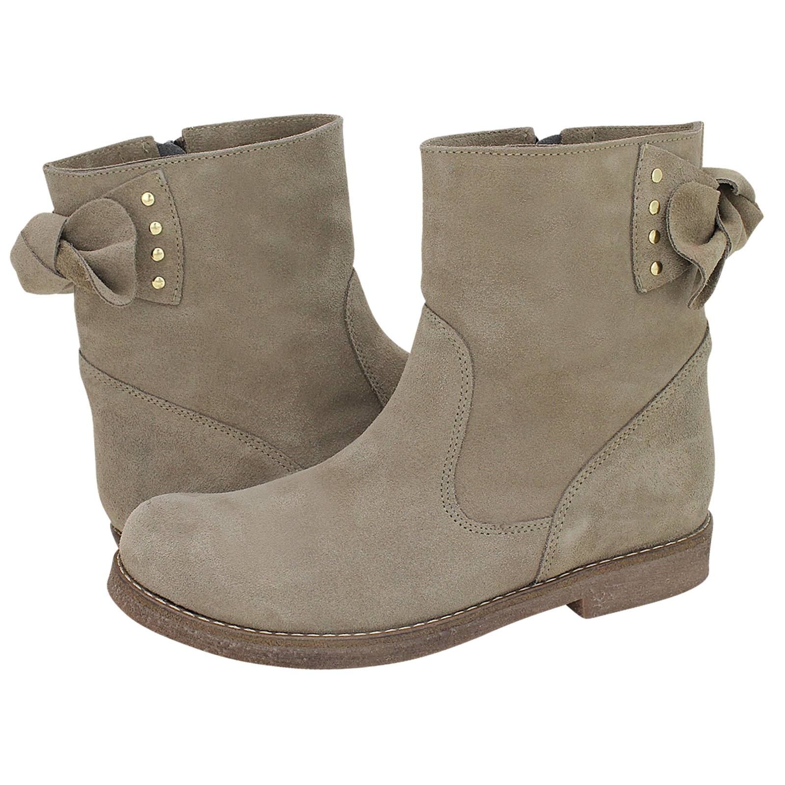 Teplodar - Esthissis Women s low boots made of suede - Gianna ... e76ad4dd731