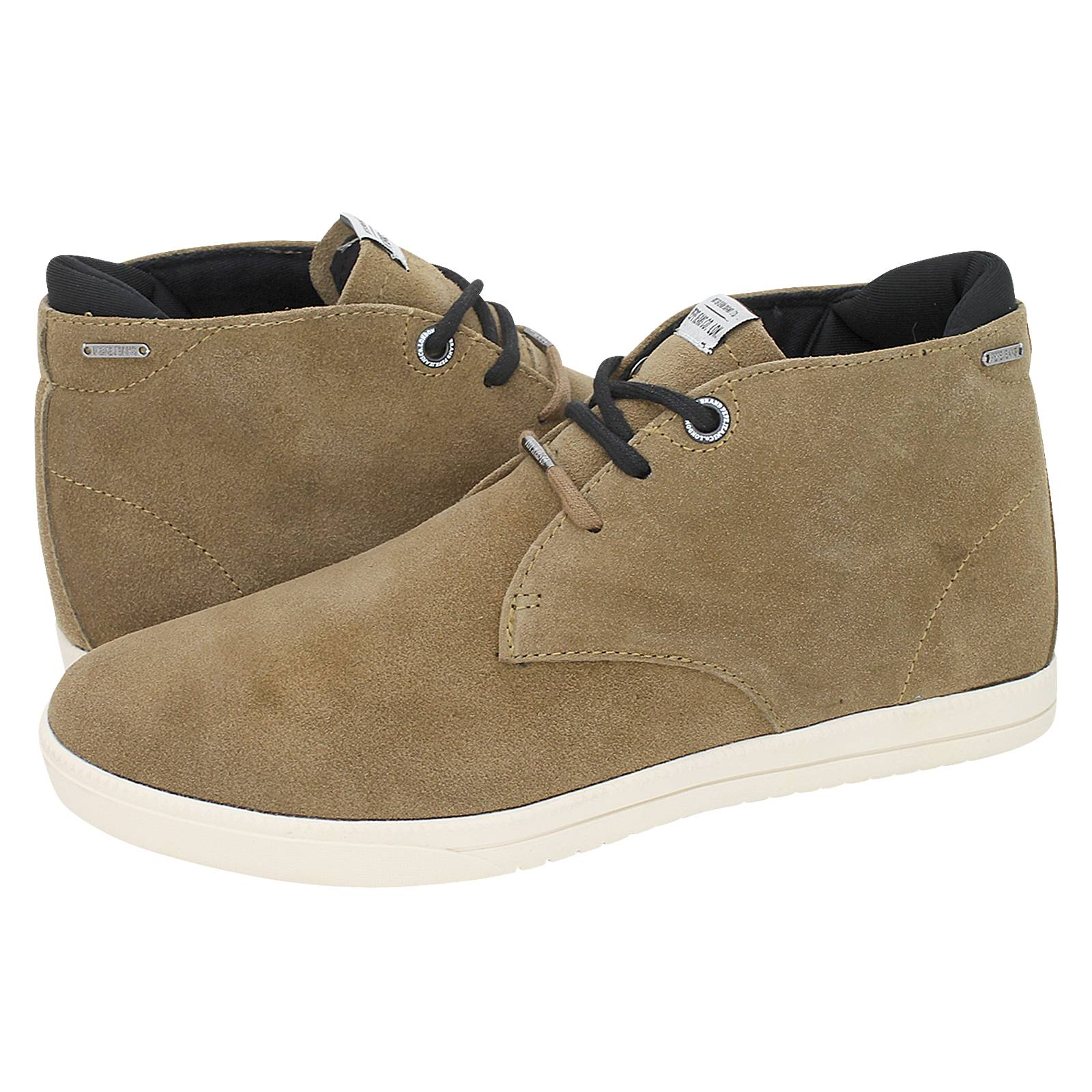 d2b482d11f Bolton Sand - Pepe Jeans Men's low boots made of suede and lycra ...