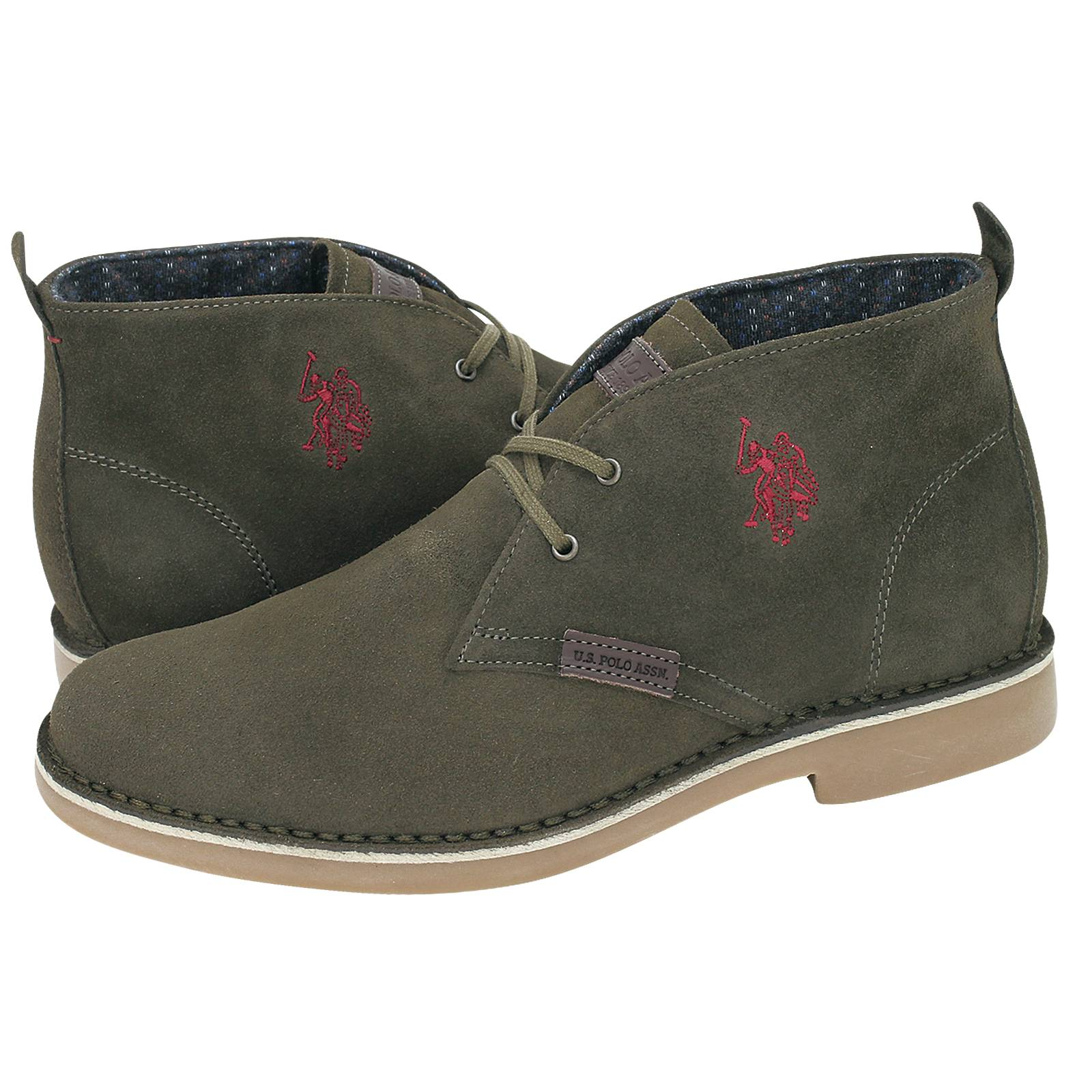 fc87b155b3efda Amadeus 13 - U.S. Polo ASSN Men's low boots made of suede - Gianna ...