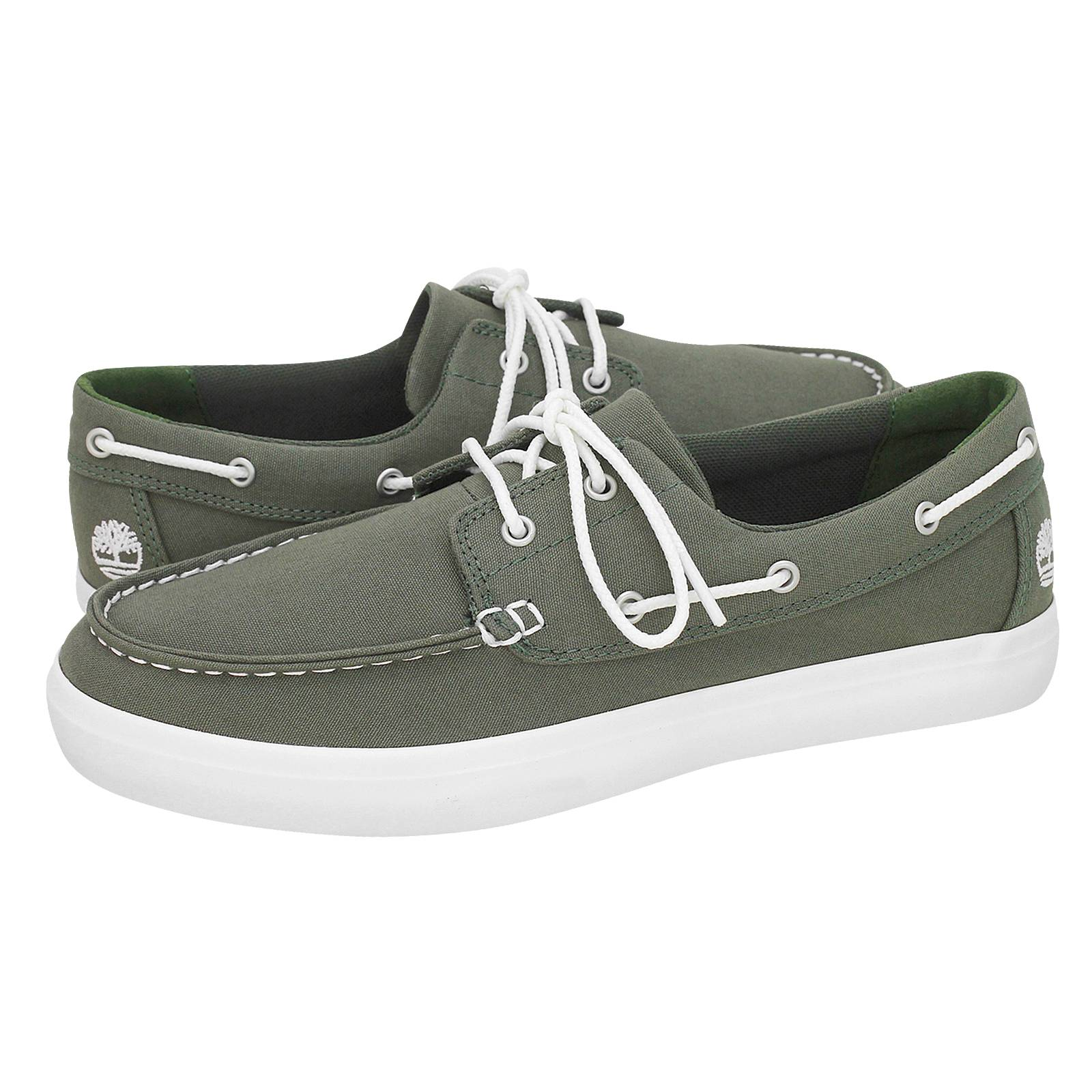 dad872a9d4d Union Wharf 2 - Timberland Men's boat shoes made of fabric - Gianna ...