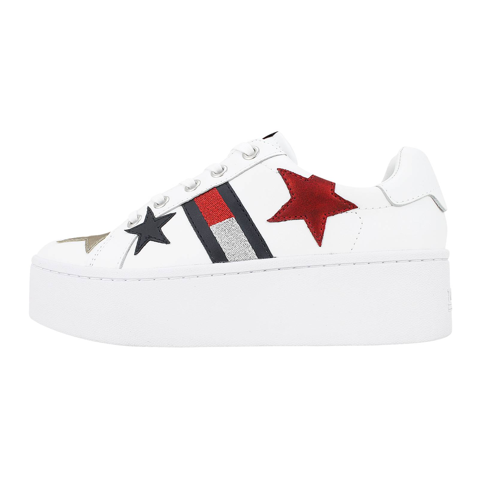 78c3058f67c14 Jeans Icon Sparkle Sneaker - Tommy Hilfiger Women s casual shoes ...