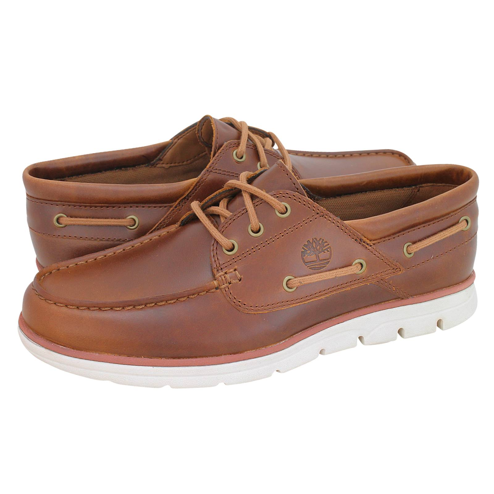 aed620f0bd99 Bradstreet 3 Eye Boat - Timberland Men s boat shoes made of leather ...