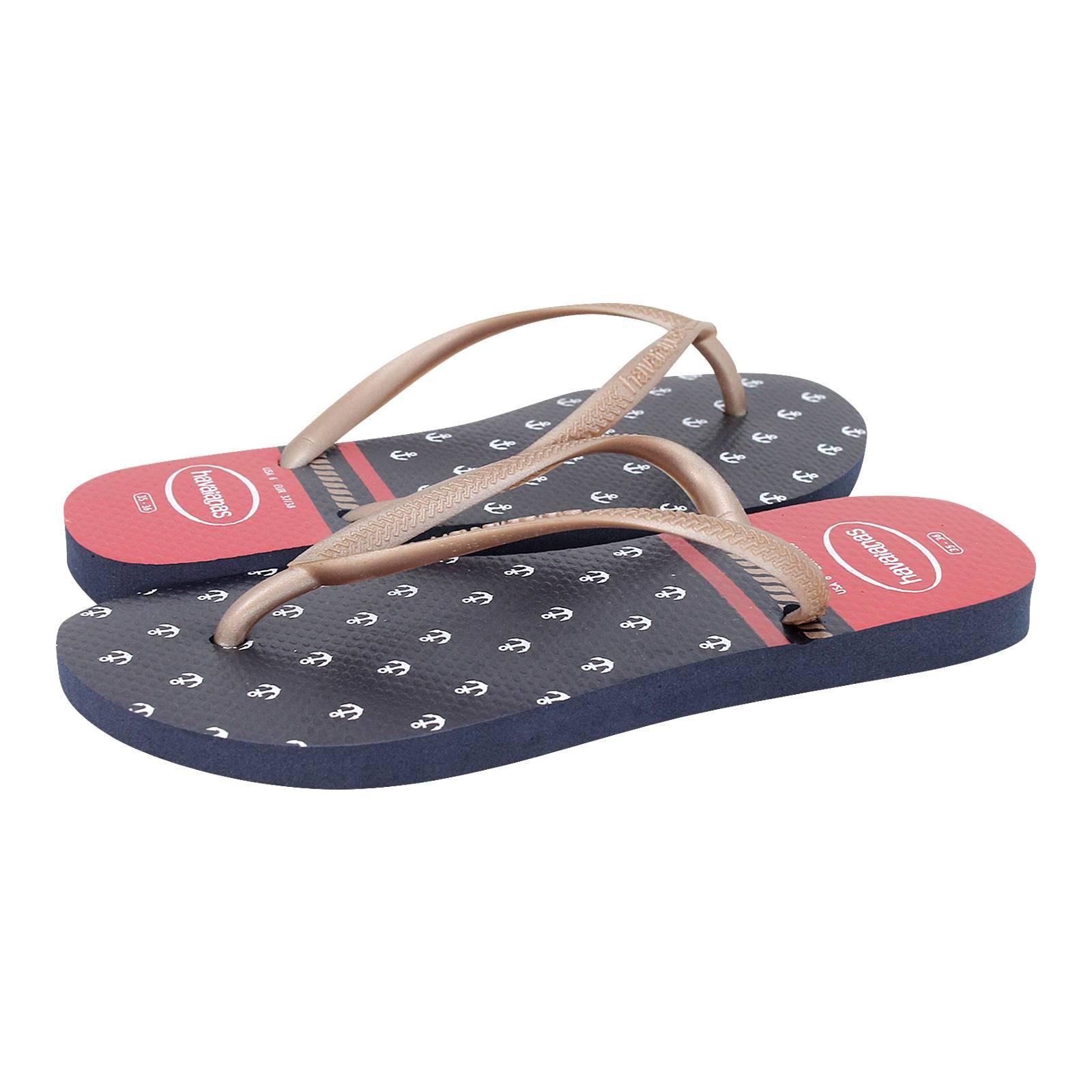 0b413d0a22f Slim Nautical - Havaianas Women s flat sandals made of pvc - Gianna ...