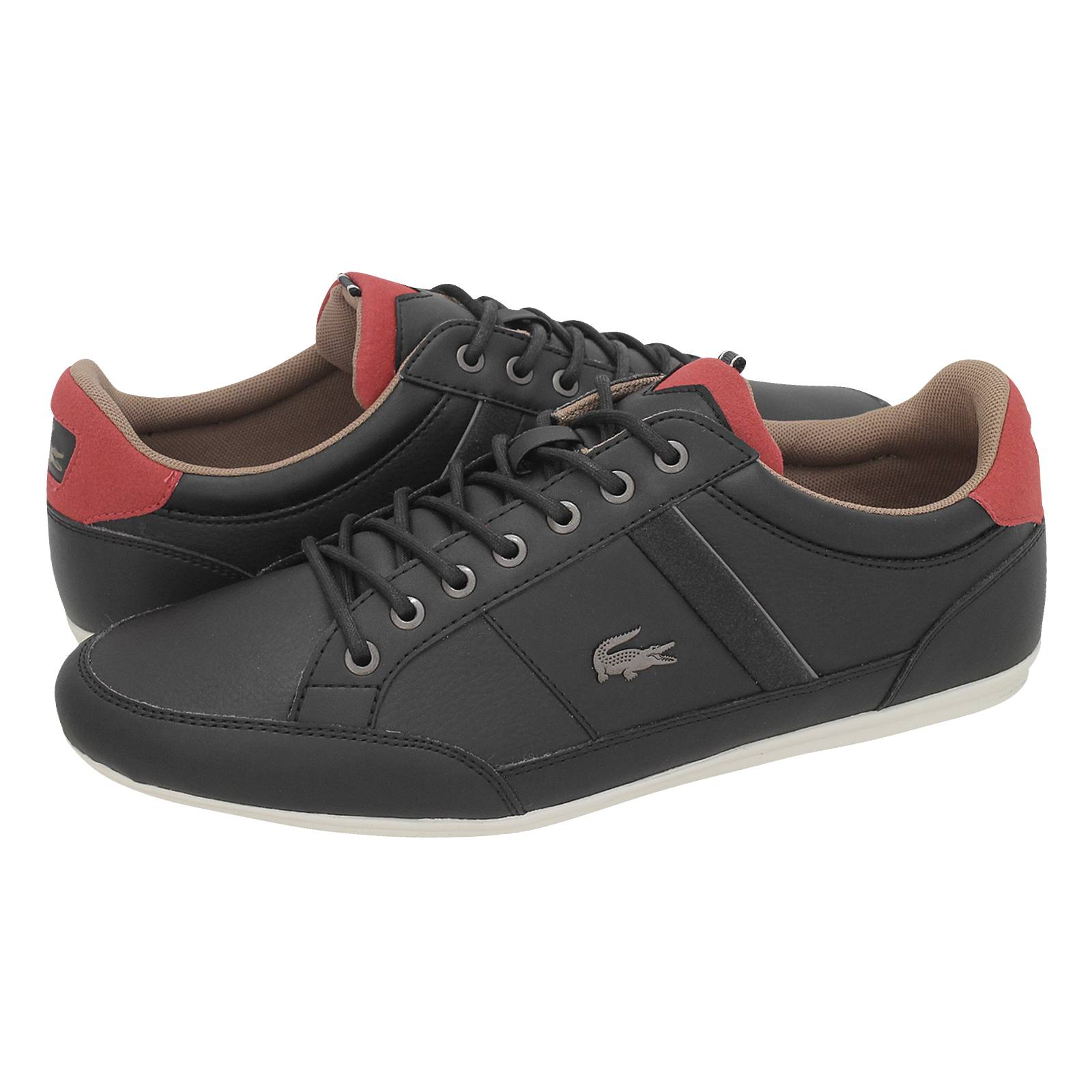 7ff4322af7aad5 Chaymon 118 2 - Lacoste Men s casual shoes made of synthetic leather ...
