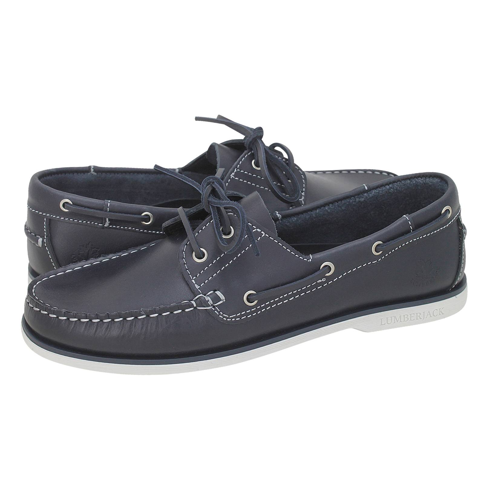 3a9795ce4244 Navigator Icon - Lumberjack Men s boat shoes made of leather ...