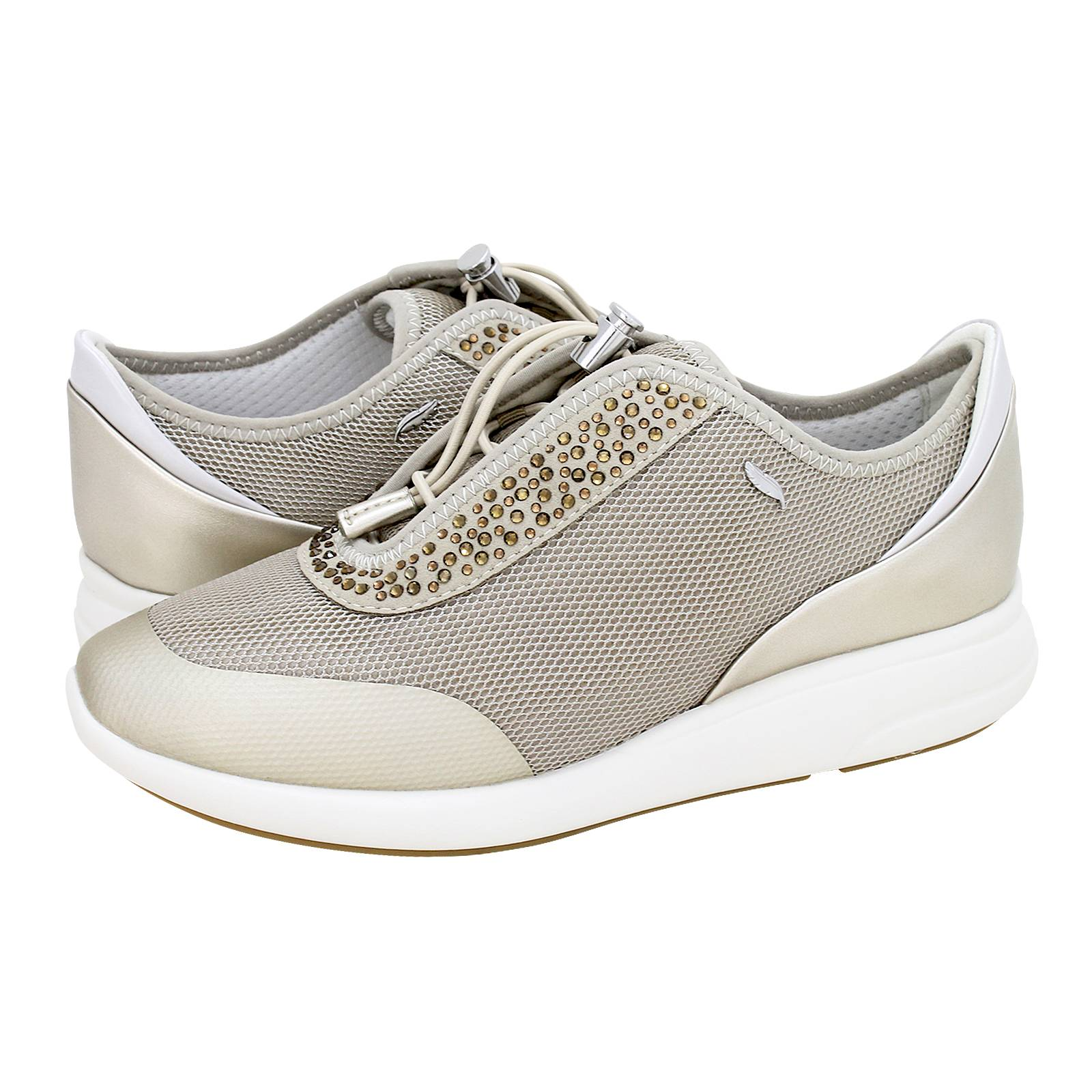 D Ophira E - Geox Women s casual shoes made of fabric and synthetic ... f59b3bba5c6