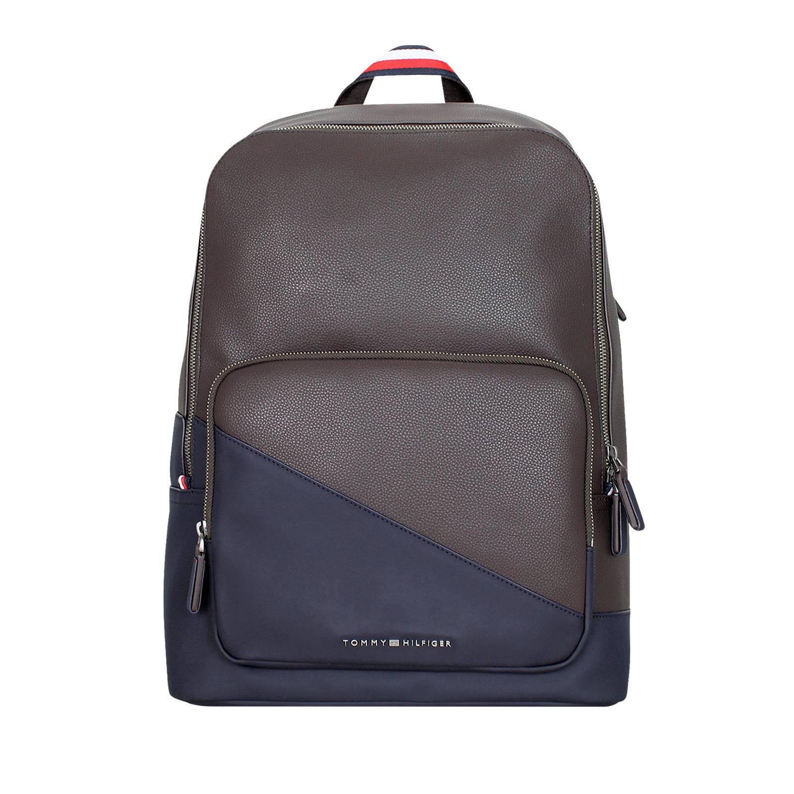 diagonal backpack tommy hilfiger men 39 s bag made of. Black Bedroom Furniture Sets. Home Design Ideas