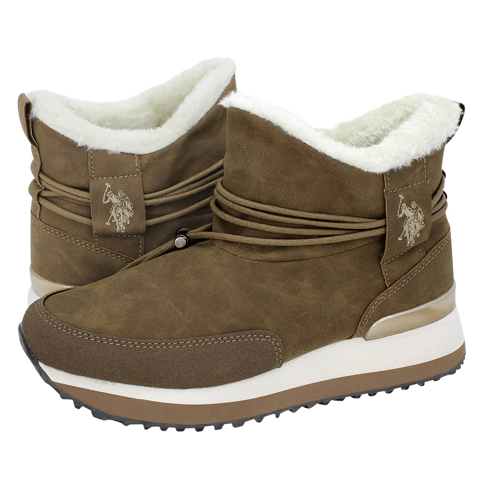 1c737bda2191 Vanessa - U.S. Polo ASSN Women s casual low boots made of synthetic ...